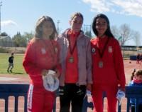 4 medallas en el campeonato Alevín – Infantil