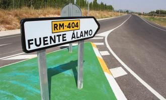 El Gobierno Regional sólo prevé invertir 500.000 euros en la carretera de Fuente Álamo en 2016
