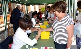 1.300 personas participan en la campaña de detección precoz de la diabetes