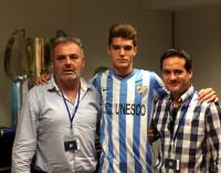 Gerardo ficha por el juvenil del Málaga