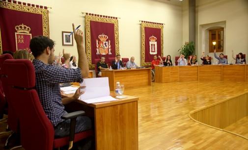 El pleno aprueba todas las propuestas políticas presentadas