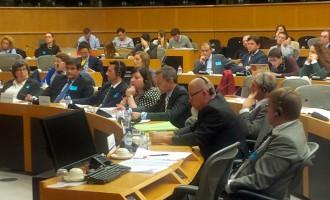 Arcas defiende en Bruselas la 'DO' para el mueble de Yecla