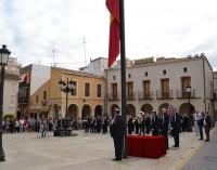 Homenaje a la Bandera Nacional, símbolo de unidad de todos los españoles