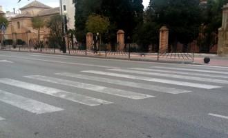Proteste Ahora!: Policía a la salida del instituto