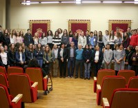 Recepción oficial a estudiantes de la ciudad francesa de Cholet