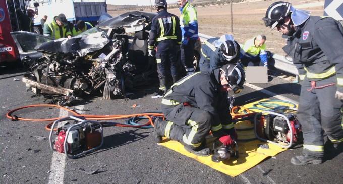 Un fallecido en un accidente ocurrido en el puerto de Jumilla