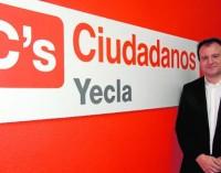 Antonio Puche no seguirá de coordinador local de Ciudadanos Yecla