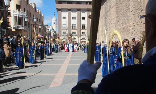 Domingo de Ramos, procesión de las Palmas