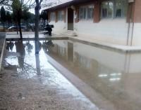 El colegio Alfonso X necesita soluciones para las inundaciones del patio