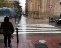 Las precipitaciones suman más de 100 litros por metro cuadrado desde el domingo