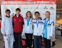 El taekwondo yeclano participa en el Campeonato de España