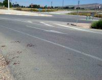 Un anciano resulta herido en un atropello en la carretera de Villena