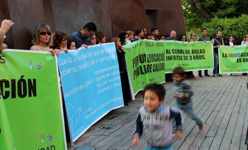 La FAMPA de Yecla se suma a la huelga convocada en secundaria para hoy