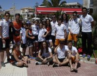 Cuatro podios para los jóvenes triatletas