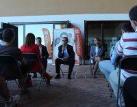Ciudadanos se reúne con los agricultores en su acto central de campaña en Yecla