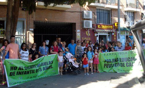 La FAMPA Yecla se suma a la jornada de huelga educativa