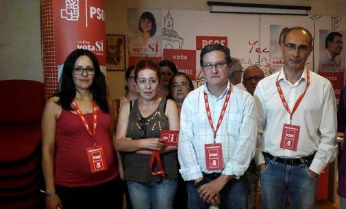 Dimite el número dos del PSOE yeclano