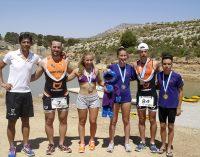 Los triatletas participaron I Acuatlón de Almansa