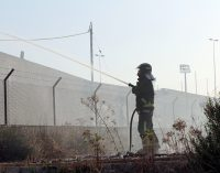 Arde una nave industrial abandonada que utilizaban jóvenes