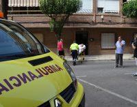 Tres heridos en un incendio declarado en una vivienda del barrio de El Sol