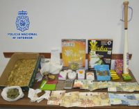 Dos detenidos por presunto tráfico de drogas