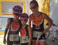 Tres victorias por todo lo alto para las chicas de triatlón