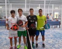Buen papel de David Martínez en el campeonato de España de pádel