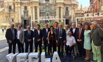 Murcia acoge la presentación de la 55 edición de la Feria del Mueble Yecla
