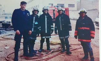 El parque de bomberos de Yecla celebra sus 25 años de existencia