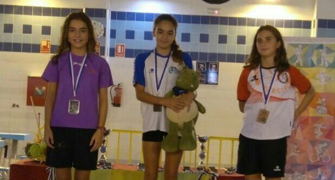El Club Natación Yecla se estrena con dos podios