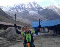 Manuel Ruiz consigue su reto en el Annapurna