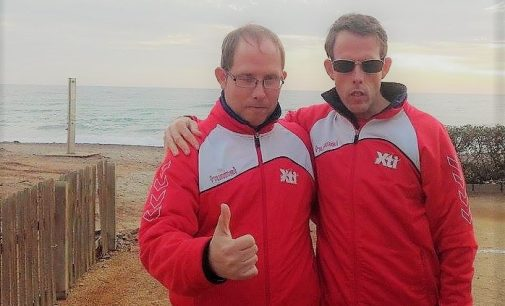 Sergio y Raúl Puche, campeones de España de Petanca
