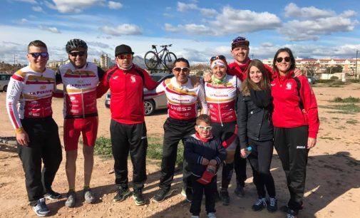 El Club Ciclista en la II Marcha BTT de San Vicente