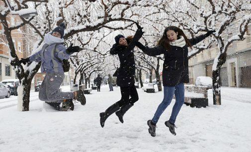 Publicamos más fotos de nuestros lectores disfrutando de la nieve