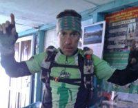 Manuel Ruiz culmina su hazaña en el Everest