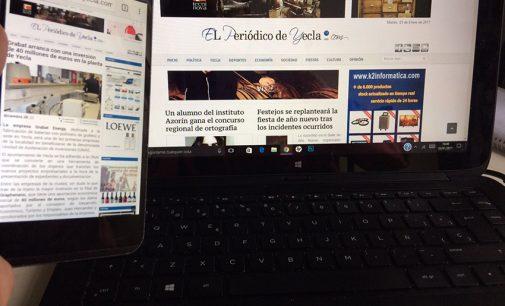 Elperiodicodeyecla.com aumentó el número de lectores en 2016