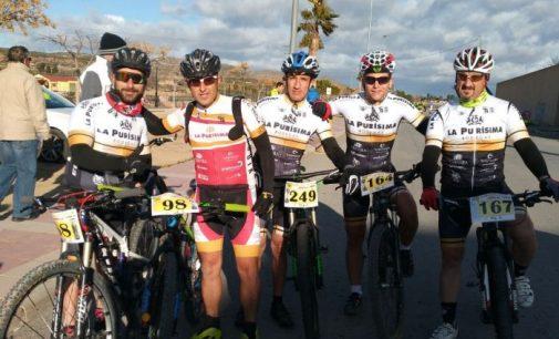 El Club Ciclista Yecla estuvo presente en la San Antón de Jumilla