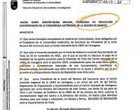 C´s muestra el recurso de Educación contra el gobierno local por no pagar las tutorías de la UNED