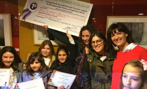 El colegio La Paz consigue el primer premio regional de sensibilización sobre la discapacidad
