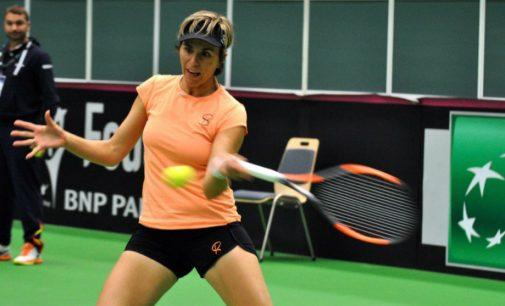 Martina Hingis deja sin cuartos de Indian Wells a María José Martínez