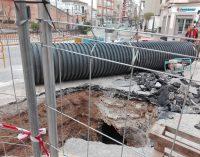 La obra del muro de los aguadores podría finalizar la semana que viene