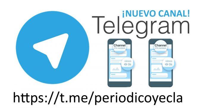 Elperiodicodeyecla.com lanza un canal de información en Telegram