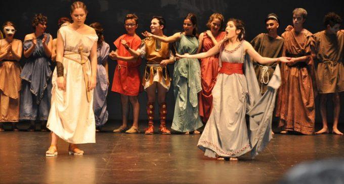Lisístrata fue protagonista en el Romea de Murcia