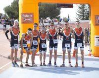 Podios y victorias para los triatletas en Torrepacheco y en la UTY