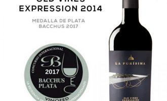 Old Vines Expression de la Purísima, medalla de plata en el Bacchus 2017