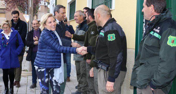 Cachá inaugura la nueva sede los agentes medioambientales