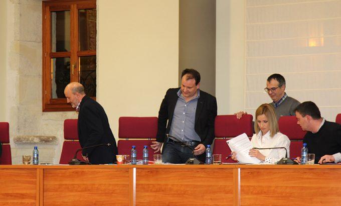 Los concejales de Ciudadanos no estuvieron presentes en la votación de la propuesta en defensa de PAS.