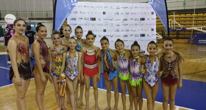 Tres medallas para la gimnasia rítmica en Galicia