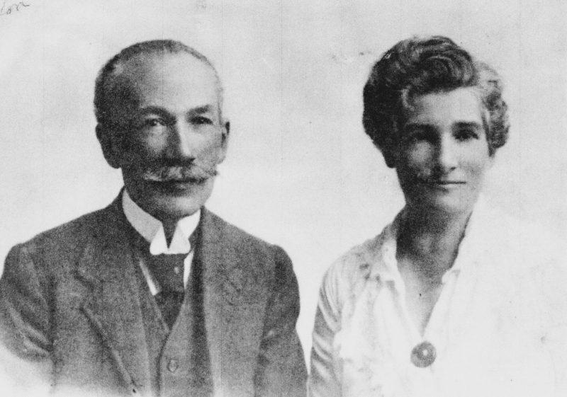 Manuel Gómez y su mujer Adela Yglesias Pedro Rubio baja