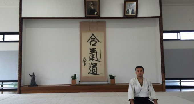 Sergio Azorín acerca el Aikido a Yecla